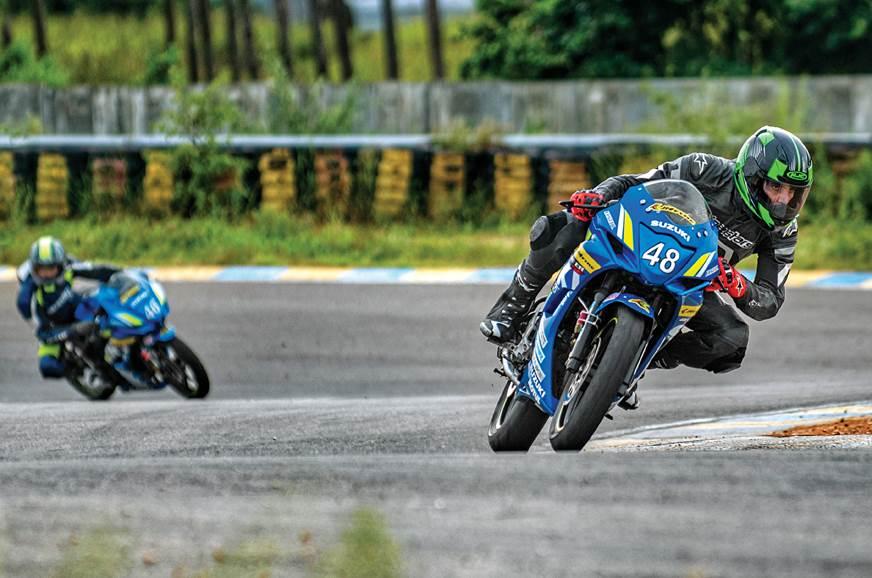 Suzuki endurance race experience