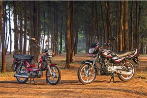 As Low As It Gets: TVS XL 100 and Bajaj CT100 feature