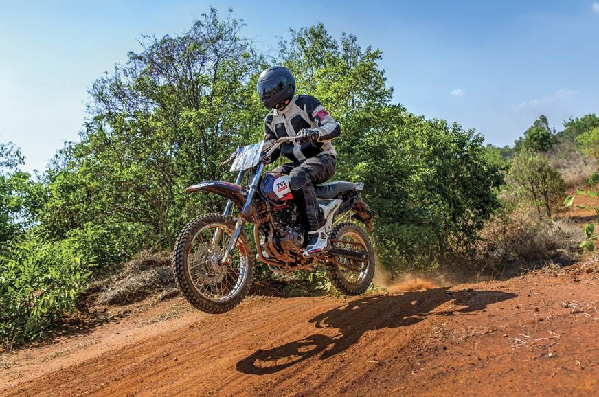 Comfortably Uncomfortable: TVS off-road ride experience