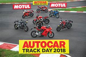 Autocar track day: India's best track bikes 2018