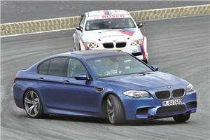 Driving the BMW M3, M5 at the Nürburgring