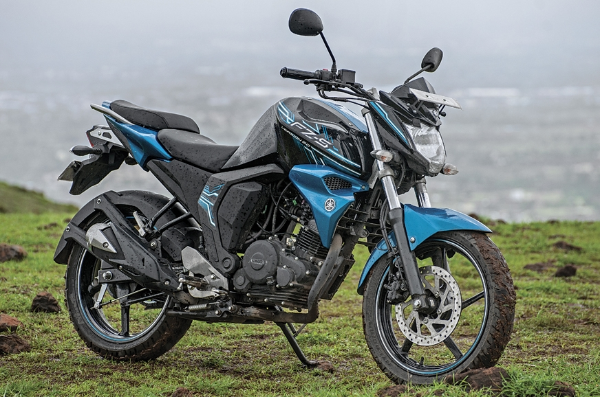 The Yamaha FZ FI is comfortable and handles bad roads quite well.