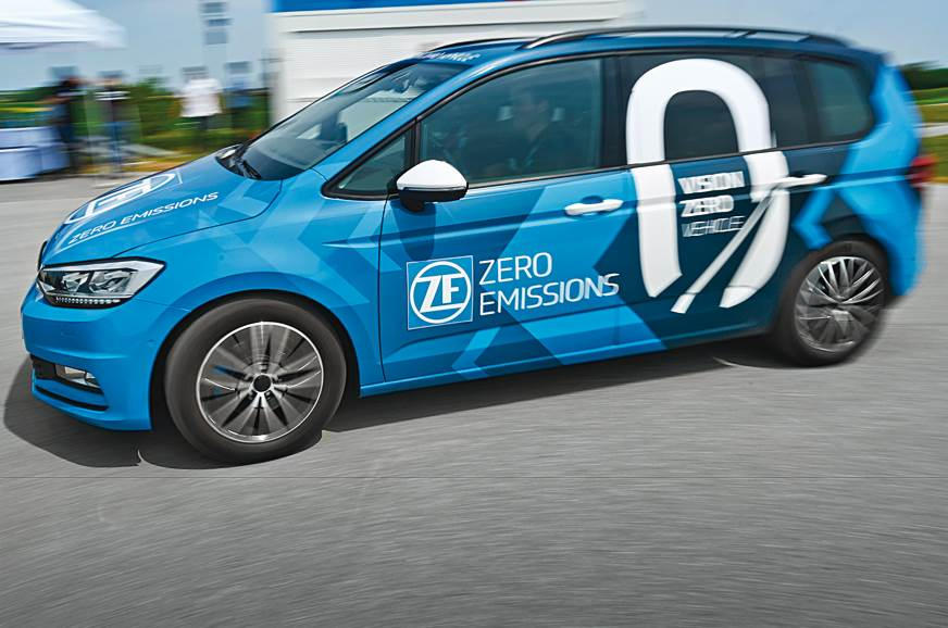 Driving the ZF Vision Zero autonomous vehicle
