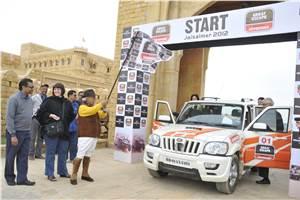 Mahindra Great Escape, Jaisalmer 2012