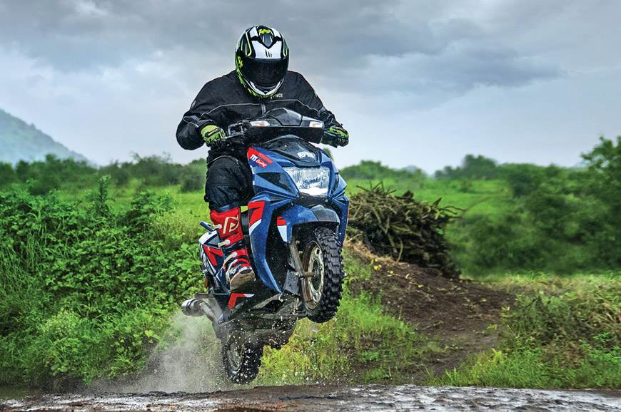 Rally-spec TVS Ntorq SXR ride experience