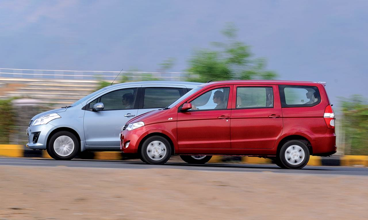 Chevrolet Enjoy vs Maruti Ertiga