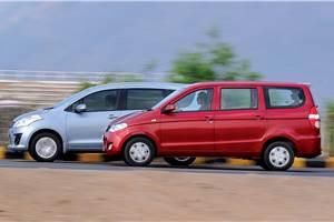 Chevrolet Enjoy vs Maruti Ertiga