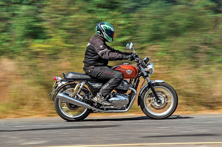 The Royal Enfield Interceptor 650 makes for a good partner on long rides.