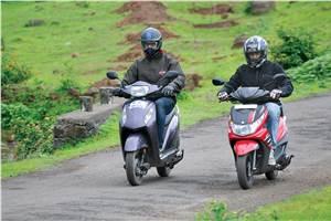 Honda Activa-i vs Yamaha Ray Z