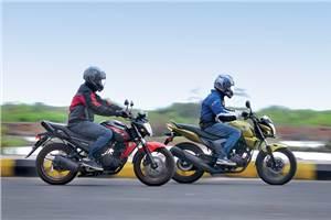 Honda CB Trigger Vs Yamaha FZ-S