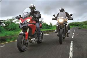 Ducati Multistrada 1200 vs BMW R 1200 GS