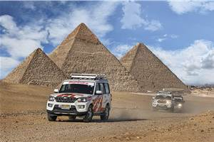 Mahindra Adventure Feature: In the Land of the Pharaohs