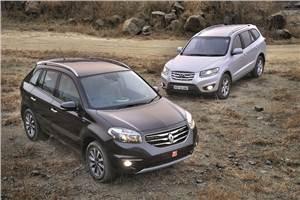 Hyundai Santa Fe vs Renault Koleos