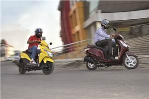 Urban Delights: New Honda Aviator and Dio