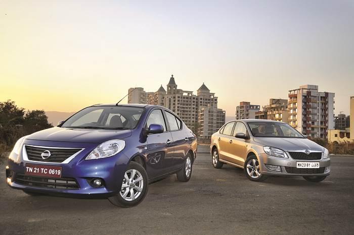 Skoda Rapid vs Nissan Sunny