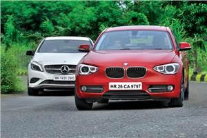 Mercedes A180 CDI vs BMW 118d diesel