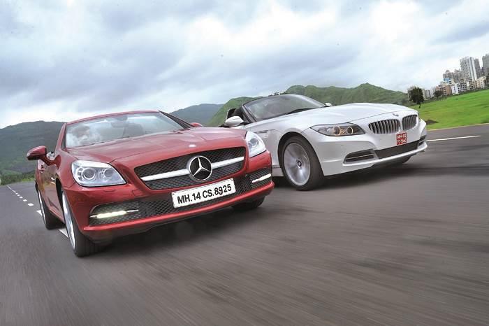 Mercedes SLK  vs BMW Z4