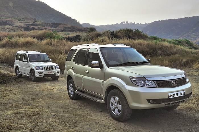 Tata Safari Storme vs Mahindra Scorpio