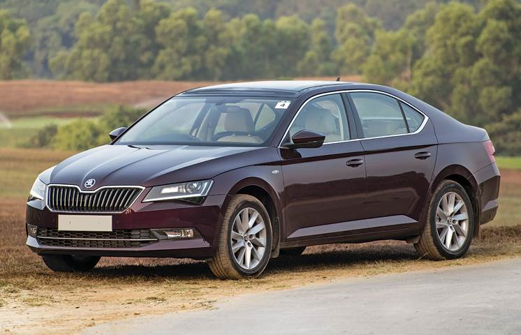 Choosing between an Audi A4, BMW 320d and Skoda Superb