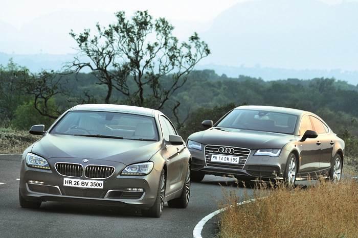 Audi A7 vs BMW 640d Gran Coupe