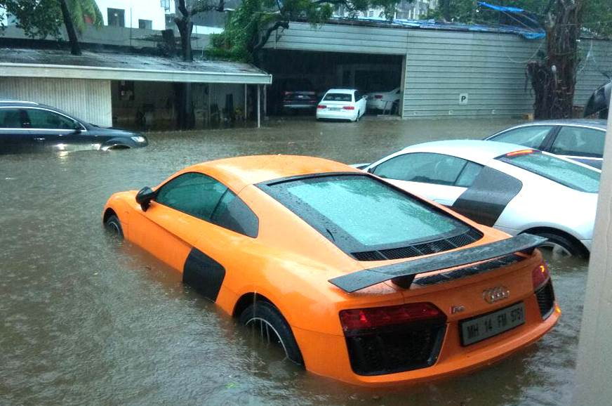 5 things to do (and not do) if your car has been flood-damaged