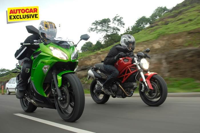 Kawasaki Ninja 650 vs Ducati Monster 795