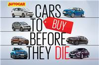 Cars to buy before they die