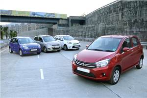 Maruti Celerio vs Nissan Micra Active vs Hyundai i10 vs Ford Figo