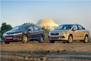 Honda City petrol vs Fiat Linea T-Jet comparison