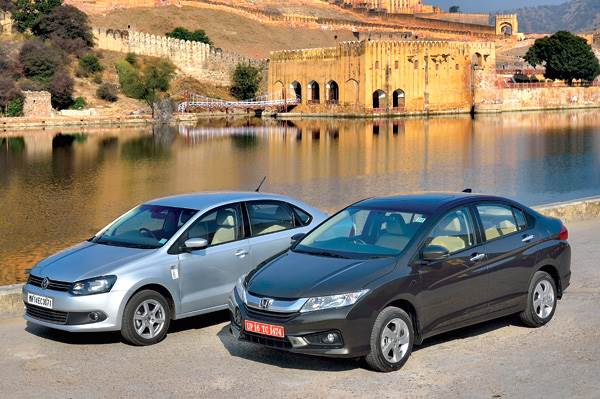 New Honda City vs Volkswagen Vento TSI comparison