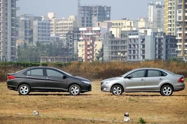 Honda City diesel vs Skoda Rapid diesel comparison
