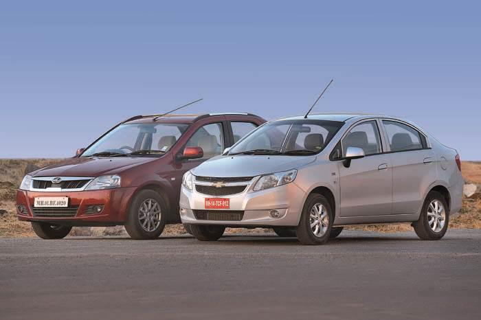 Chevrolet Sail vs Mahindra Verito