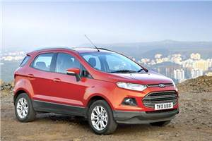 Inadequate headlamp throw in Ford EcoSport