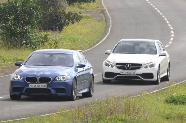 New Mercedes E 63 AMG vs BMW M5