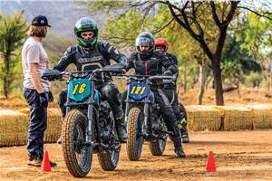 Harley-Davidson Flat Track ride experience
