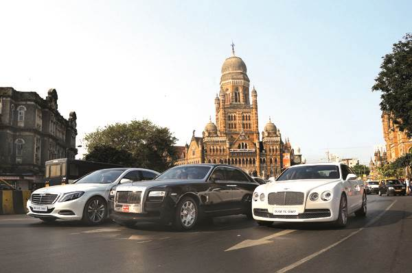 Mercedes S-Class vs Rolls-Royce Ghost vs Bentley Flying Spur