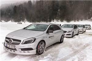 Mercedes-Benz AMG Winter Sporting programme