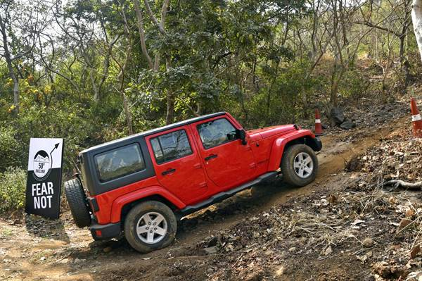 Off-roading with the Jeep Wrangler and Grand Cherokee