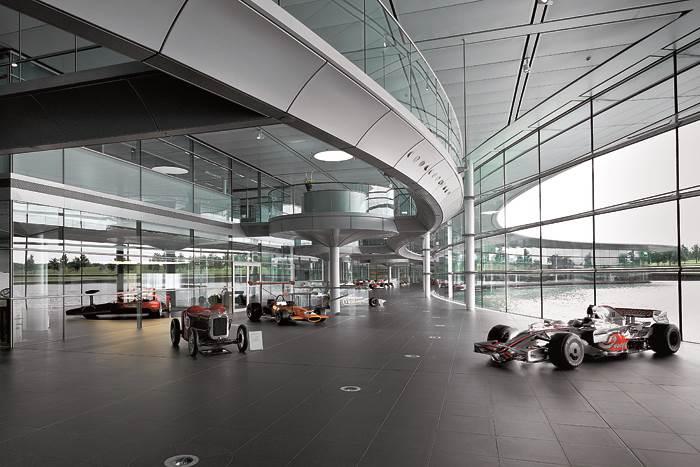 Experience: McLaren Technology Centre