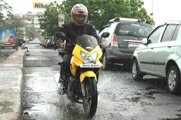 Tips for riding during monsoons