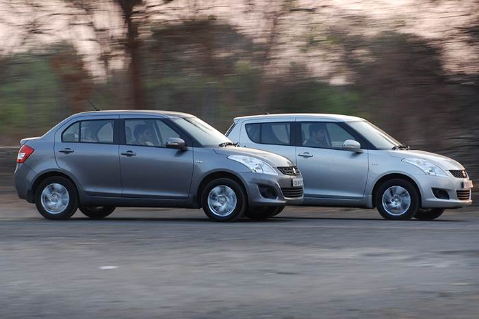 Swift vs Dzire: The long and short of it