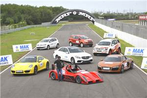 Mega Track Test - India's best drivers cars 2013