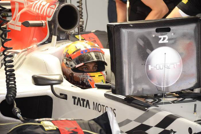 Indian Grand Prix: Day one in pictures