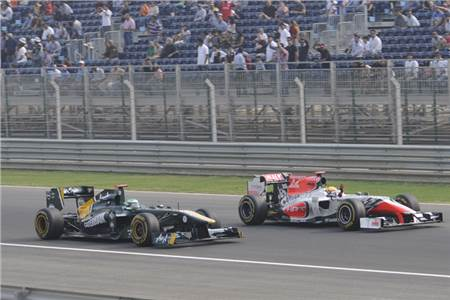 Indian Grand Prix:  Day two in pictures