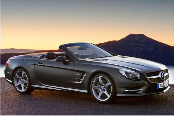 New Mercedes SL roadster