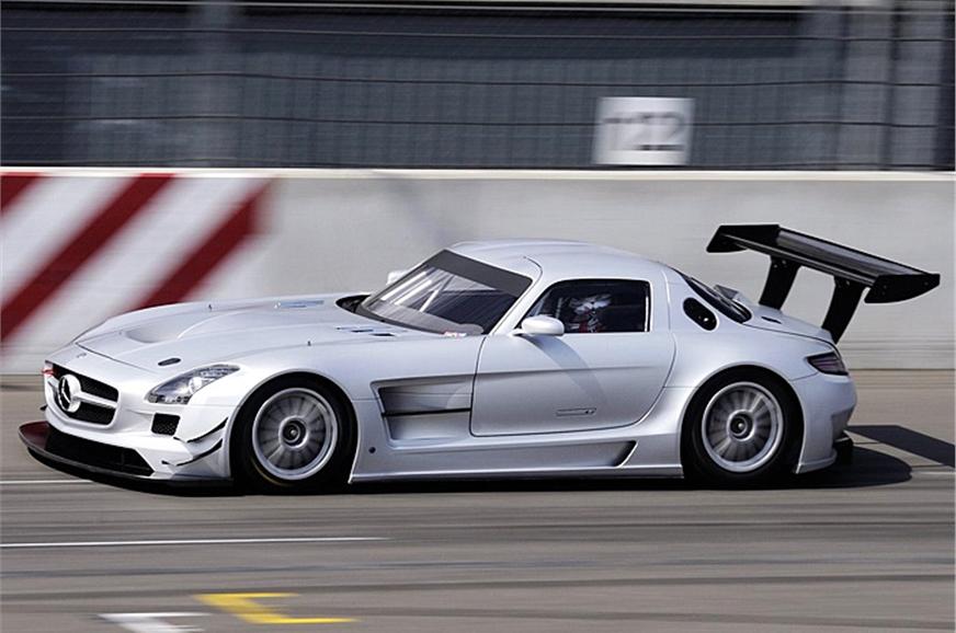 Mercedes benz sls gt3 touring car autocar india for Mercedes benz touring car