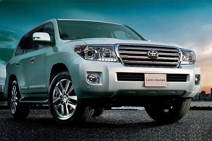 Toyota Land Cruiser facelift