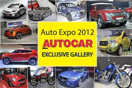 Auto Expo 2012 Gallery