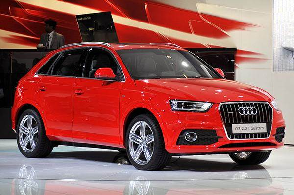 Audi at Auto Expo 2012
