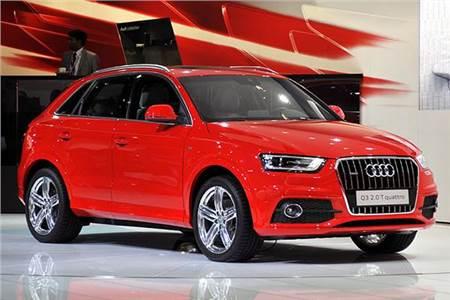 Audi at Auto Expo 2012